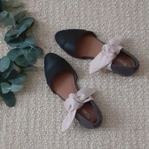 TOMS Jutti D' orsay Bow Flats size 5